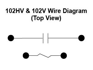 item 102hvx 3 24vdc 102hv 102v series high voltage