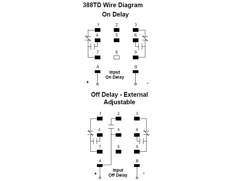 ... 388 Series - Time Delay Relays - Wiring Diagram ...