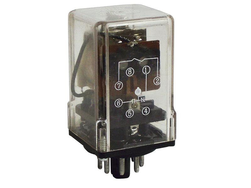 392 Series - Low Coil Power Sensitive Relays - Octal Base On ...