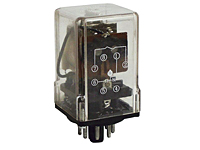 392 Series - Low Coil Power Sensitive Relays - Octal Base