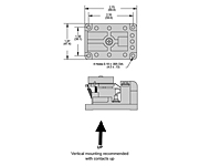 415 Series - Screw Terminals - Dimensional Picture