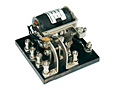 112 Series - Low Coil Power Sensitive Relays - Industrial Pin Out