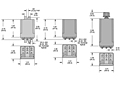 388 Series - Time Delay Relays - Dimensional Picture