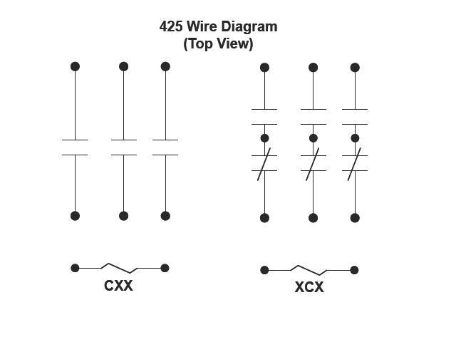 Item   425xcx-115-125vdc  425 Series