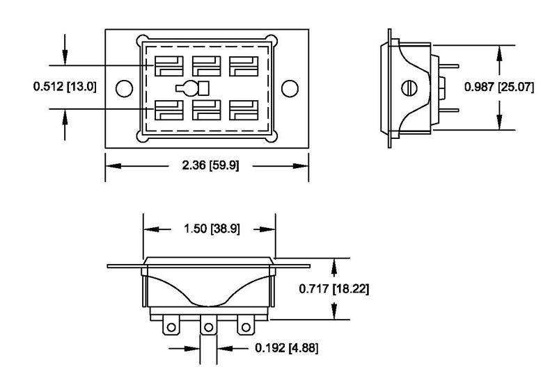 Item Sk Trf6 Bfw 1 Sockets For Traffic Cabinet Relays